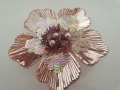 Plate flower Rose Gold